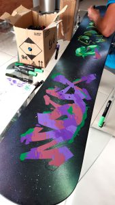 Cutomisation snowboard