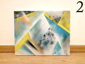 Toile abstraite2